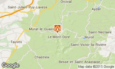 Carte Le Mont Dore Maison 14875