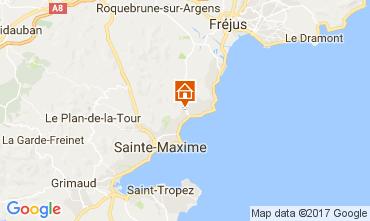 Carte Sainte Maxime Villa 109388