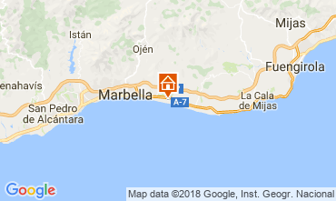 Carte Marbella Appartement 115766