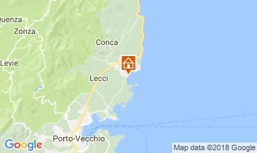 Carte Ste Lucie de Porto Vecchio Maison 114349