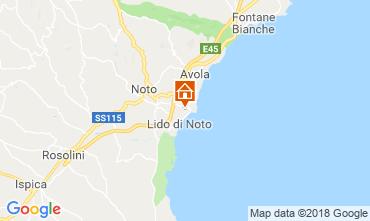 Carte Noto Villa 117431