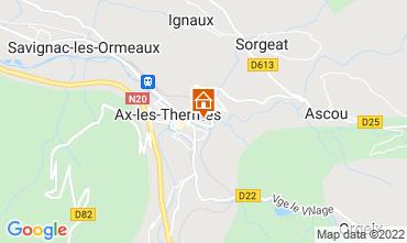 Carte Ax Les Thermes Maison 108174