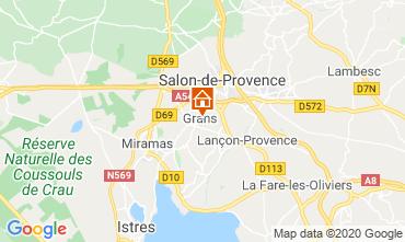 Carte Salon de Provence Gite 12967
