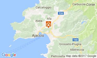 Carte Ajaccio Villa 112247