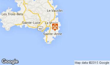 Carte Sainte Anne (Martinique) Maison 62844