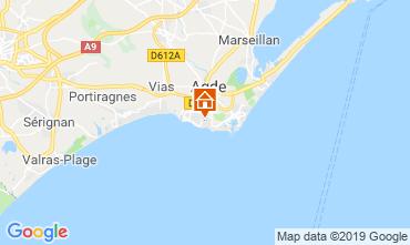 Carte Agde Mobil-home 117878
