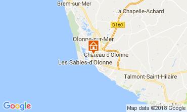 Carte Les  Sables d'Olonne Maison 113303