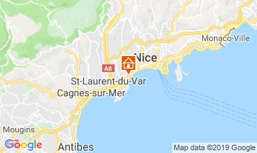 Carte Nice Appartement 52742
