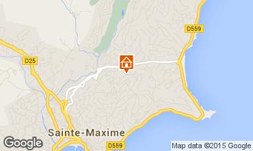 Carte Sainte Maxime Villa 5713