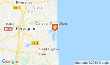 Carte Canet-en-Roussillon Mobil-home 114704