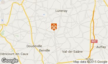 Carte Saint Valéry en Caux Maison 11925