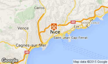 Carte Nice Appartement 93560