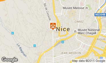 Carte Nice Appartement 93560