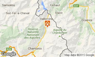 Carte Chamonix Mont-Blanc Appartement 720