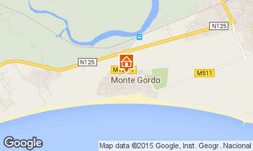 Carte Monte Gordo Appartement 83166