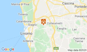 Carte Livourne Villa 88032