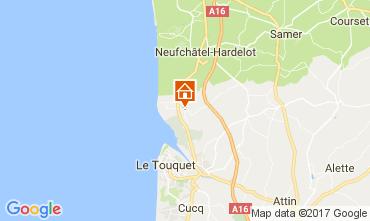 Carte Le Touquet Mobil-home 108559