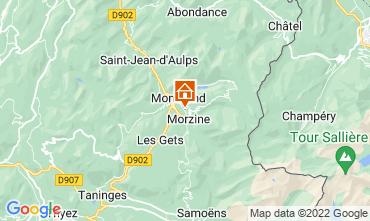 Carte Morzine Chalet 76329