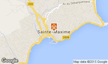 Carte Sainte Maxime Appartement 87179