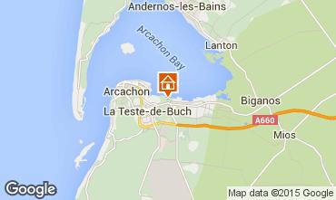 Carte Arcachon Maison 61302