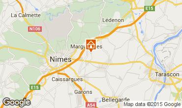 Carte Nîmes Villa 75882