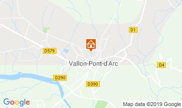 Carte Vallon-Pont-D'Arc Appartement 32319