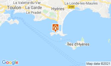 Carte Hyères Gite 81394