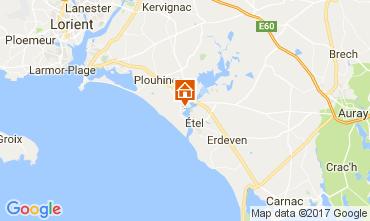 Carte Plouhinec (Morbihan) Maison 110475