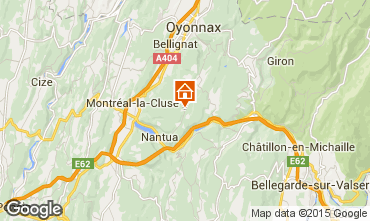 Carte Monts Jura Gite 12024