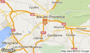 Carte Aix en Provence Villa 93652