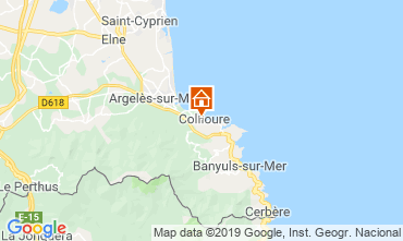 Carte Collioure Appartement 118435