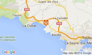 Carte Saint Cyr sur Mer Studio 105596