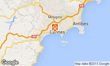 Carte Cannes Appartement 66651