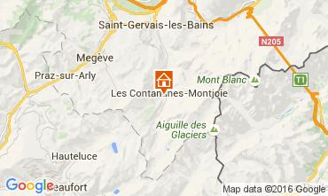 Carte Les Contamines Montjoie Chalet 105403