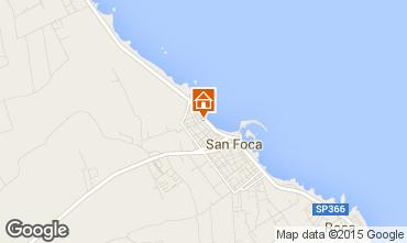Carte San Foca Appartement 54622