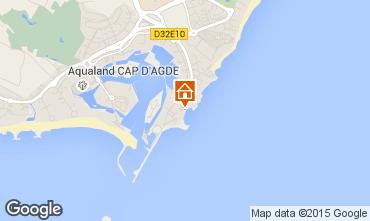 Carte Cap d'Agde Studio 100361