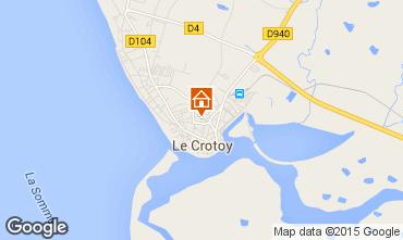 Carte Le Crotoy Maison 21470