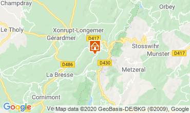 Carte La Bresse Hohneck Studio 29084