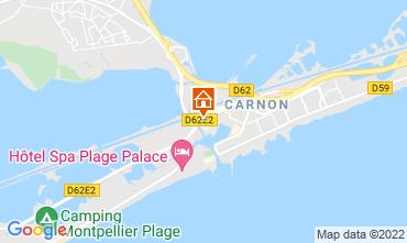 Carte Carnon Plage Studio 57176