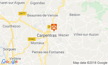Carte Carpentras Maison 117417
