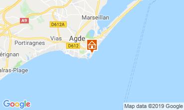 Carte Cap d'Agde Appartement 118541