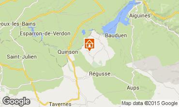 Carte Artignosc-sur-Verdon Maison 65147