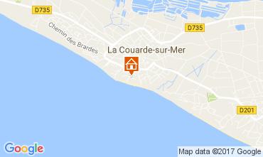 Carte La Couarde-sur-Mer Appartement 81402