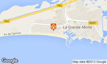 Carte La Grande Motte Studio 88527