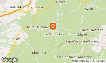 Carte Le Mont Dore Appartement 28784