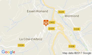 Carte Morzine Chalet 112228