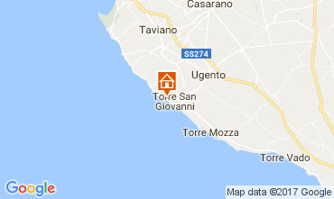 Carte Ugento - Torre San Giovanni Appartement 108186