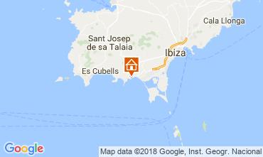 Carte Ibiza Chambre d'hôte 113290