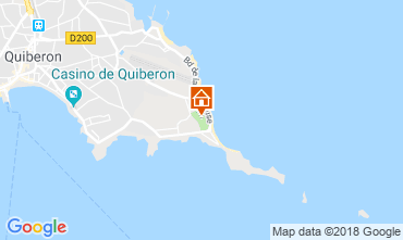Carte Quiberon Mobil-home 117587