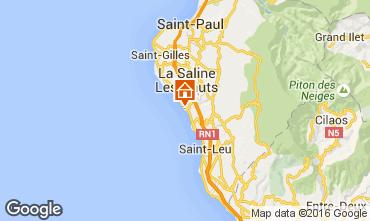 Carte La Saline les Bains Villa 102826
